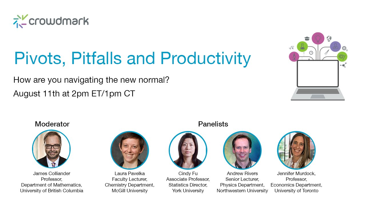 Pivots, Pitfalls and Productivity – How are you navigating the new normal? Panel Discussion